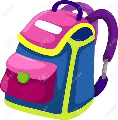 clipart for bag clipart for kid