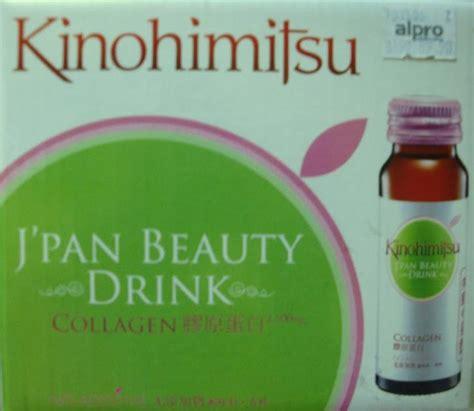Kinohimitsu J Pan Drink Collagen notti netti kulit anjal dengan kinohimitsu j pan