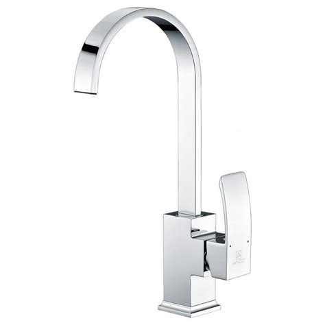 standard kitchen faucets anzzi opus series single handle standard kitchen faucet in