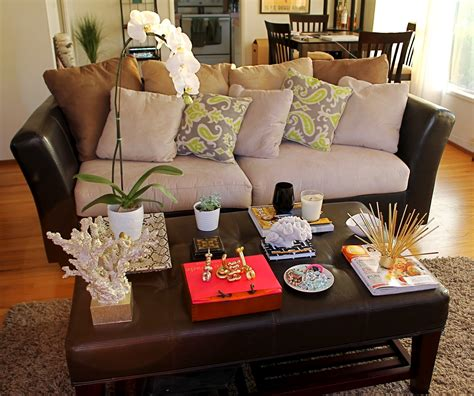 Decorating A Coffee Table Top Choosing Coffee Table Decorating Ideas The Home Decor Ideas