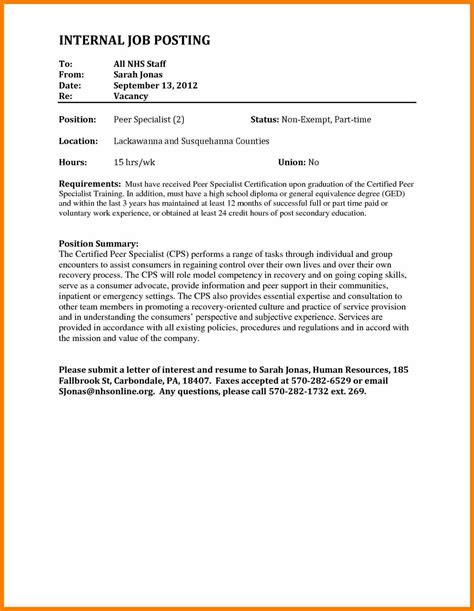 cover letter format internal position sle cover letter internal audit position cover letter
