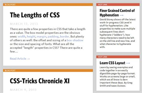 layout css tricks website design is it better to have groups of content