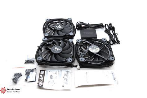 Thermaltake Riing 12 Rgb Radiator Fan Tt Premium 3pack thermaltake riing 12 rgb radiator fan tt premium edition