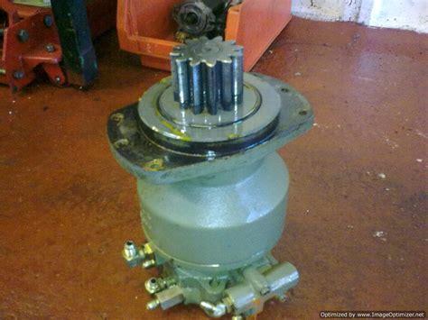 hydraulic slew motor equipment repairs