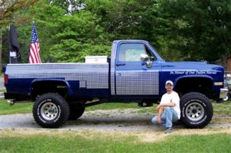 """FOUND 1987 Chevy """"Tribute To Fallen Soldiers"""" Truck Feb 13, 2010 Hotrod Hotline"""