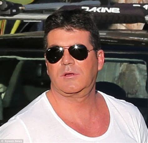 Simon Cowell Fat Face | so whatever happened to simon cowell s face looking