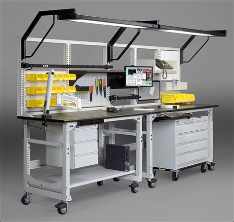 techbench and techorganizer desk workbench system