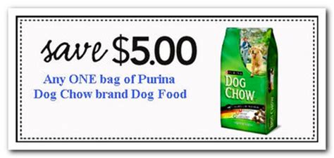 free printable purina dog food coupons purina dog chow coupons where and how to get happy dog