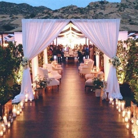 Outdoor Wedding Reception Entrance Decoration Ideas ? OOSILE