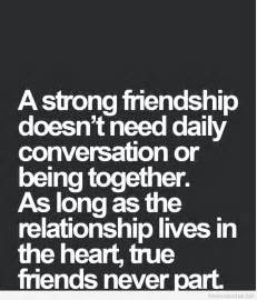 strong friendship quote hd