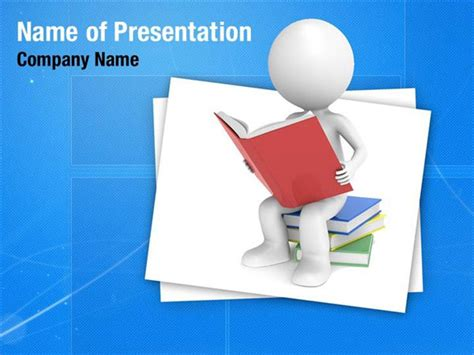 reading books powerpoint templates reading books