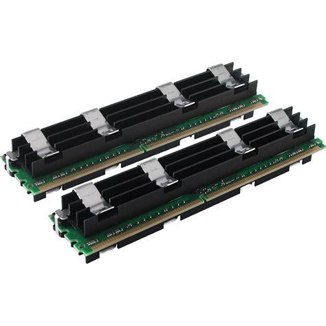 upgrade mac memory ram crucial 8gb 2x4gb fb dimm mac pro memory