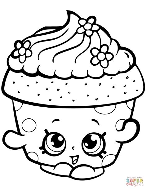 pages free shopkins coloring pages free 4 shopkins coloring