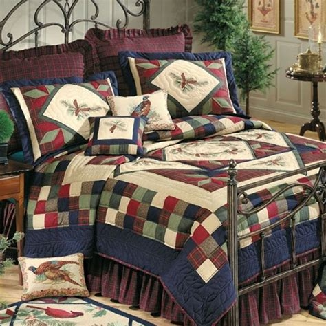 Western Quilt Bedding Sets Whispering Pines Quilt By C F Lodge Western Southwestern And Southwest Quilts