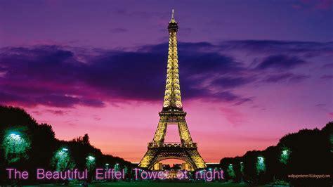 wallpaper keren menara eiffel gambar pemandangan eiffel tower