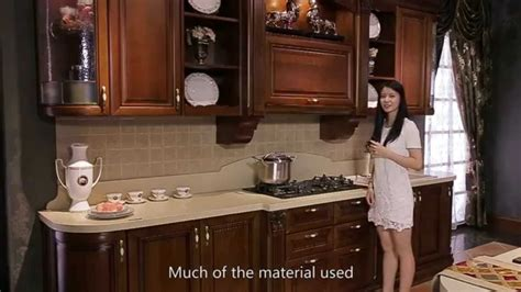 high  cherry wood kitchen cabinet  oppein youtube