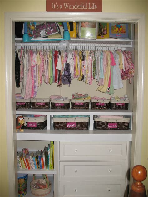 Baby Wardrobe Designs by Baby Closet How To Domestic Beebopper