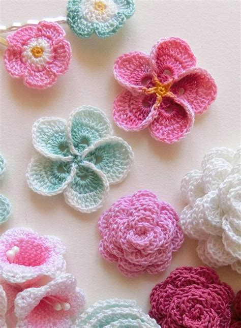 pattern crochet a flower crochet plumeria pattern frangipani easy photo tutorial