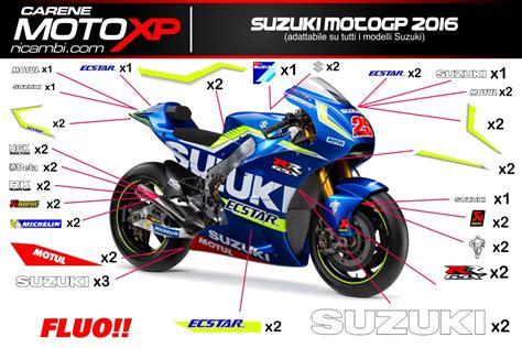 Moto Gp Aufkleber Set Suzuki by Grafiken Suzuki Moto Gp 2016 Fluo Superbike Racing