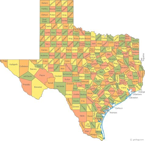 map of texas cities and counties tom s take secure texas