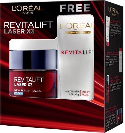 Pelembab L Oreal White Laser l oreal revitalift laser x3 new skin anti aging with offer price in india buy l