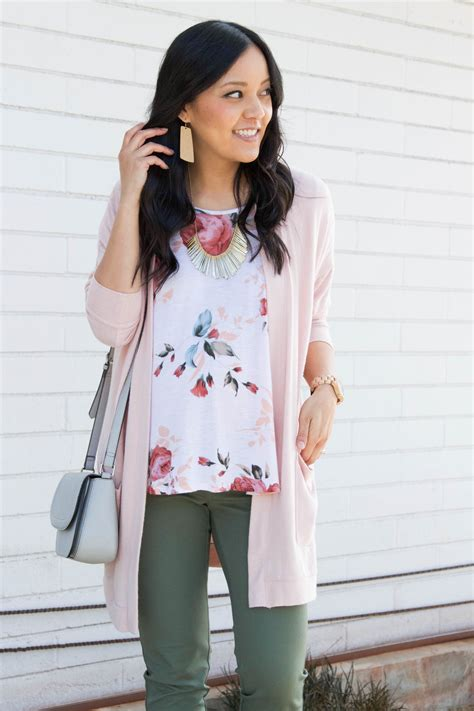 Putting It Together Green Pink by 5 Ways To Wear A Pink Or Blush Cardigan For
