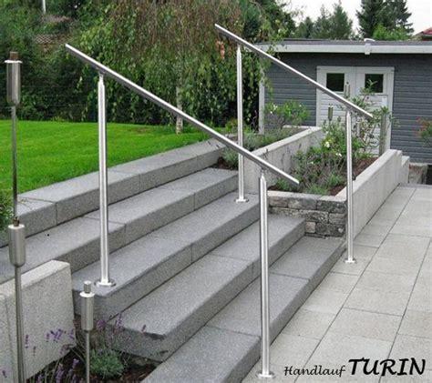 edelstahl treppengeländer treppengel 228 nder edelstahl turin v2a handlauf