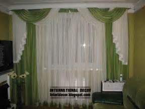 Green Colour Curtains Ideas Curtains Catalog Designs Styles Colors For Living Room