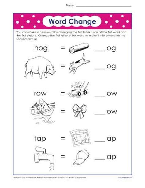 Phonics For 1st Grade Worksheets by Grade Printable Phonics Worksheets