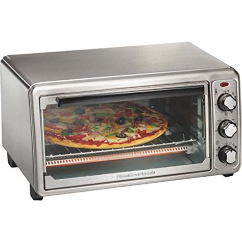 Toaster Oven With Auto Slide Out Rack 6 Slice Ss Toaster Oven