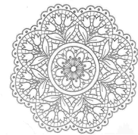 Pretty Designs Coloring Pages | mandala coloring mandalas pinterest coloring