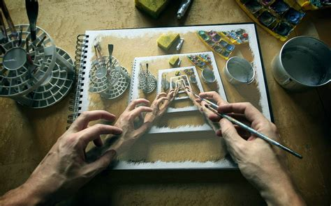 A Painting Within A Painting by Painting Within A Painting Within A Painting Imgur