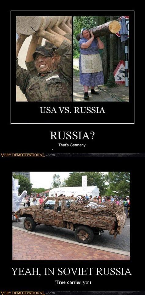 Russian Army Meme - yeah in soviet russia http chzb gr hjmrl7 yeah in soviet russia tree carries you 25 funny