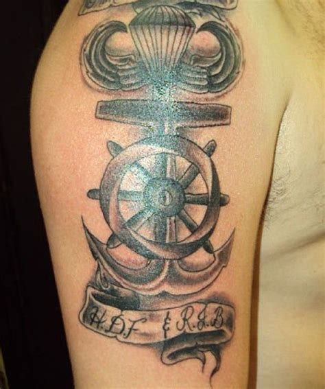 navigation tattoo 23 stunning nautical shoulder tattoos