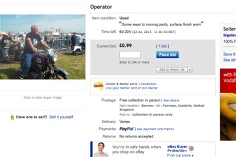 man fails to sell himself on ebay for 99p aol uk money