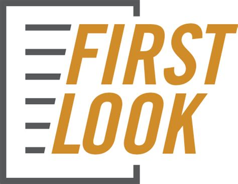 a first look at first look ans publications journals