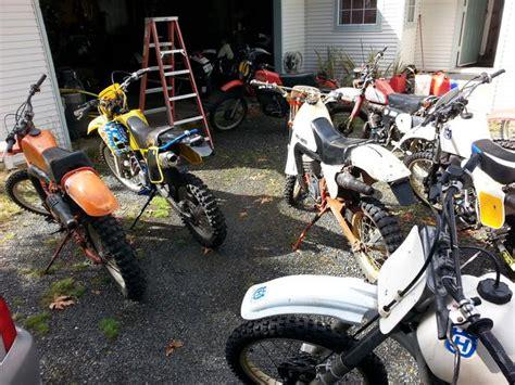 Dirt Bike Garage by 1 000 000 183 Vintage Dirt Bike Garage Sale Nanaimo Outside