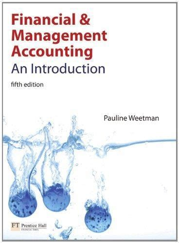 Accounting and financial management isbn 9780750667296 pdf financial and management accounting an introduction 5th fandeluxe Gallery