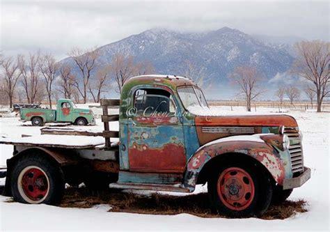 rusty pickup old rusty chevy trucks