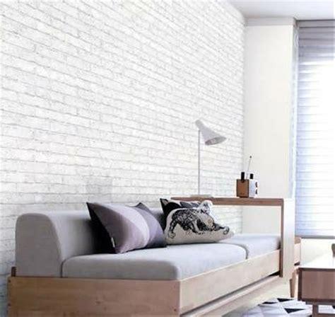 jual wallpaper dinding batu bata putih  lapak asalusil