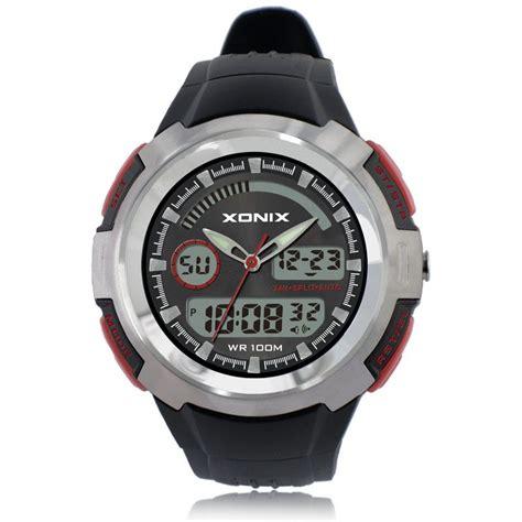 100m waterproof mens sports watches relogio xonix brands
