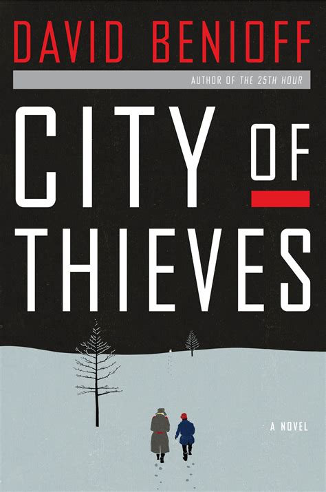 the city a novel books guest book city of thieves