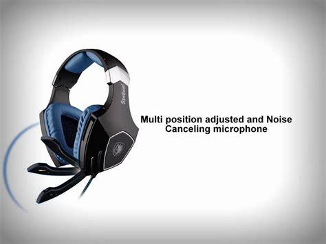 Original Headset Gaming Sades Spellond Plus Sa 910s sades sa 910 spellond gaming headset blue gaming central