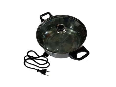 Panci Elektrik panci elektrik dengan listrik mengolah dan menghangatkan masakan harga jual