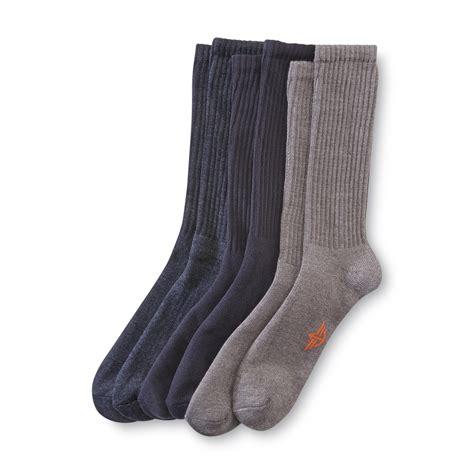 cushion comfort dockers men s 5 pairs cushion comfort socks solids