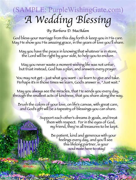 Wedding Blessing Gift wedding blessing gift for sale purplewishinggate