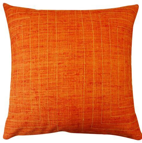 Orange Toss Pillows by Streams Orange Pillow Decorative Pillows