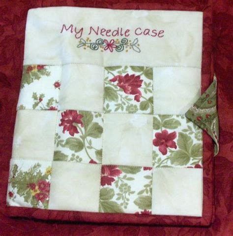 free pattern needle case free patterns