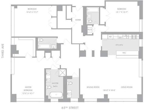 manhattan apartment floor plans manhattan house 200 east 66th street upper east side