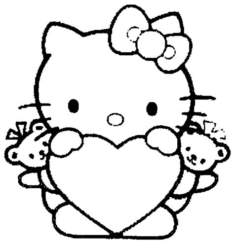 coloring pages hello kitty 171 bassia s trends and luxury